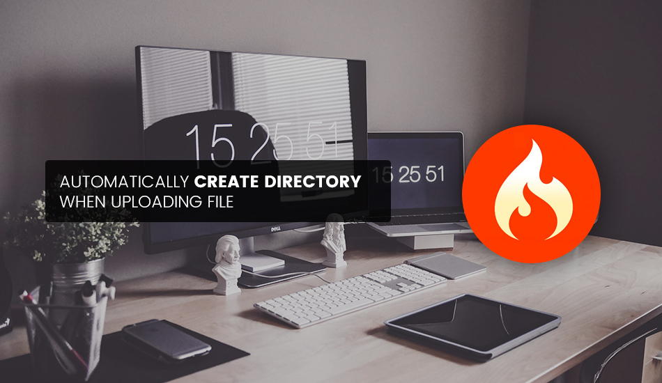 Automatically Create Directory When Uploading with CodeIgniter